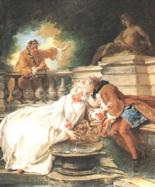 The Gouvernante Fidèle by Jean Francois de Troy