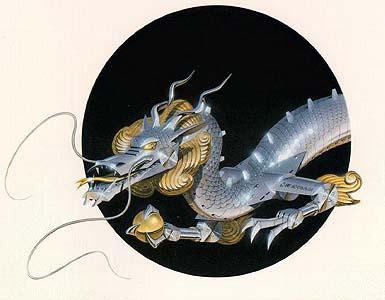 Dragon by Hajime Sorayama