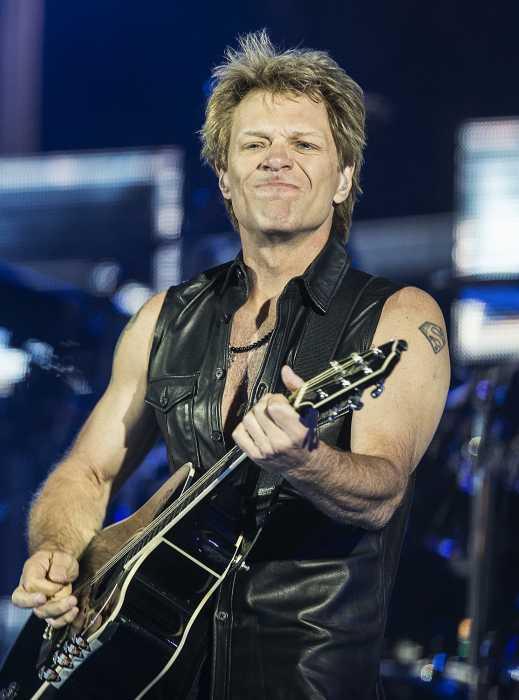 John Francis (Jon Bon Jovi) Bongiovi, Jr.