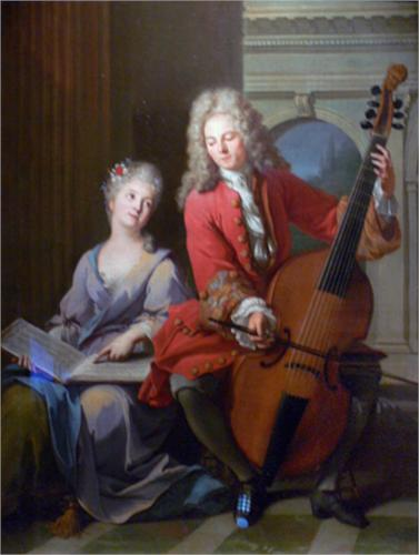 The Music lesson by Jean-Marc Nattier