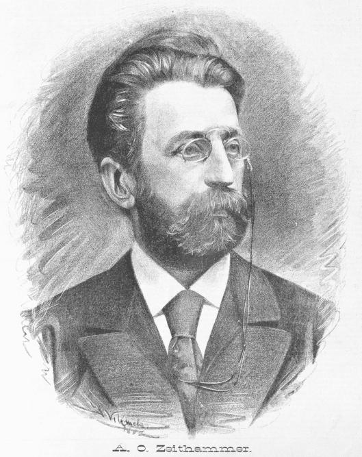 Antonin Otakar Zeithammer by Jan Vilimek