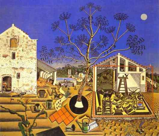 The Farm by Joan Miró i Ferrà