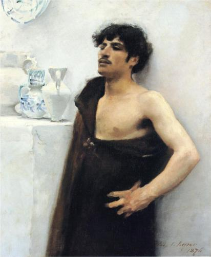 Young Man in Reverie by John Singer Sargent