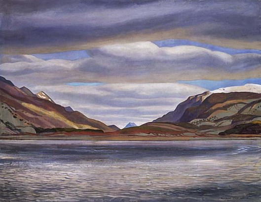 Azopardo River by Rockwell Kent