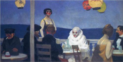 Blue Night by Edward Hopper