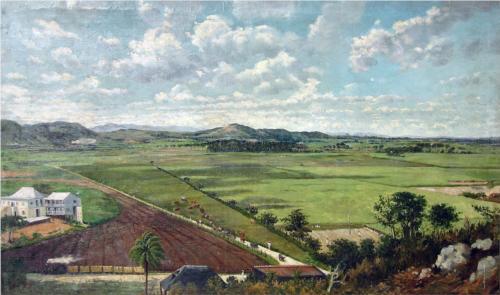 La Hacienda Buenavista en Ponce by Francisco Manuel Oller y Cestero