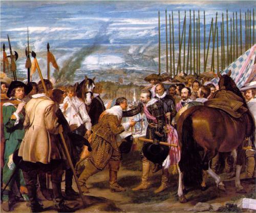 The Surrender of Breda by Diego Rodríguez de Silva y Velázquez