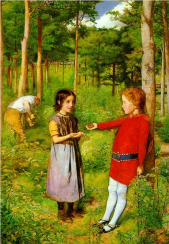 The Woodman's Daughter by John Everett Millais