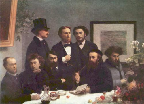 The Corner of the Table by Henri Fantin-Latour