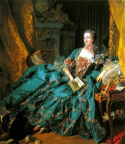 Madame de Pompadour by François Boucher
