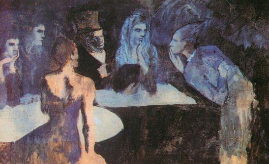 Les Noces de Pierrette by Pablo Ruiz y Picasso