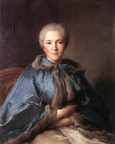he Comtesse de Tillières by Jean-Marc Nattier