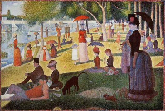 Sunday Afternoon on the Island of La Grande Jatte by Georges-Pierre Seurat