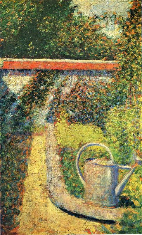 The Watering Can by Georges-Pierre Seurat