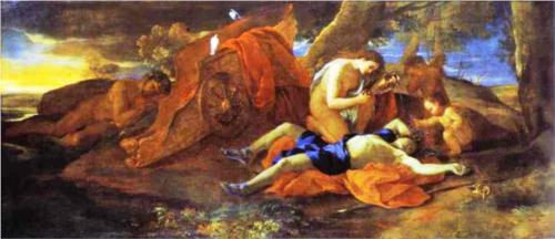 Venus weeping Over Adonis by Nicolas Poussin