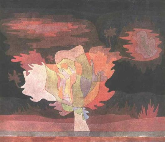 Before the Snow by Paul Klee