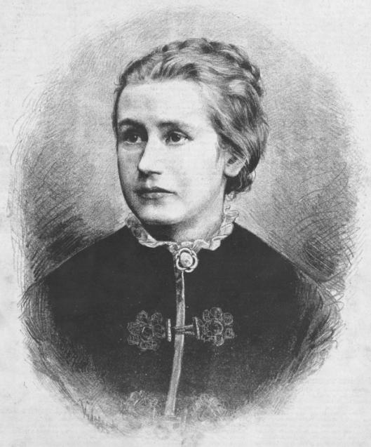 Eliška Krásnohorská by Jan Vilímek
