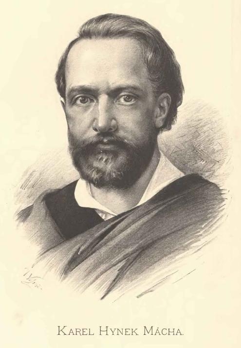 Karel Hynek Mácha by Jan Vilímek