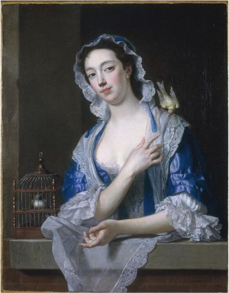 Margaret ('Peg') Woffington by Jean-Baptiste van Loo
