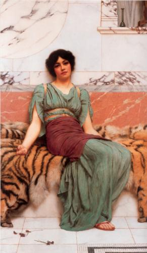 weet Dreams by John William Godward