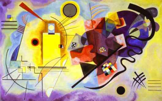 Yellow Red Blue by Wassily Wassilyevich Kandinsky