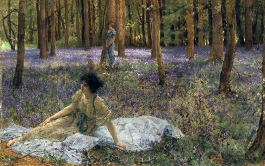 Bluebells by Lawrence Alma-Tadema