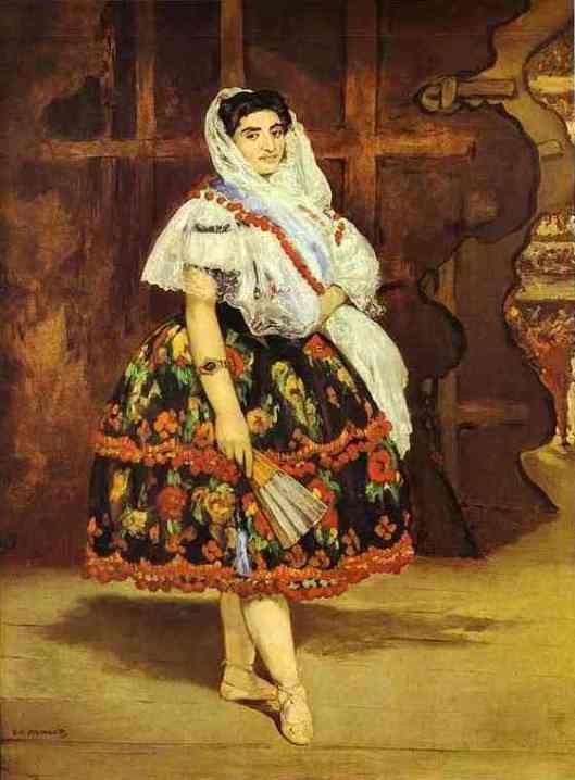 Lola de Valence by Édouard Manet