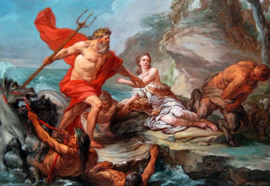 Neptune and Amymone by Charles-André van Loo
