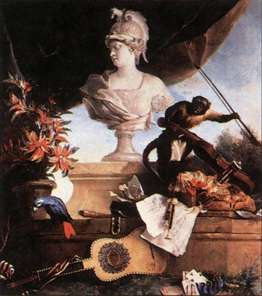 Allegory of Europe by Jean-Baptiste Oudry
