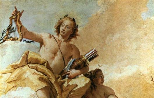 Apollo and Diana by Giovanni Battista Tiepolo