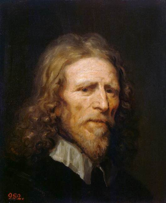 Portrait of Abraham van der Doort by William Dobson