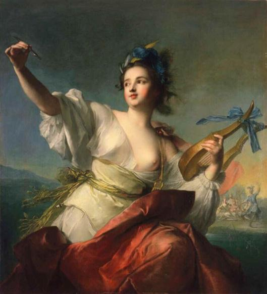 Terpsichore, Muse of Dance by Jean-Marc Nattier